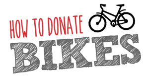 How to Donate Bikes